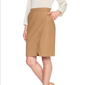 Banana republic beige pencil skirt